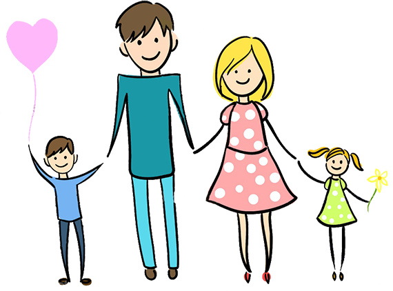 depositphotos 7213662-Happy-family-holding-hands-and-smiling