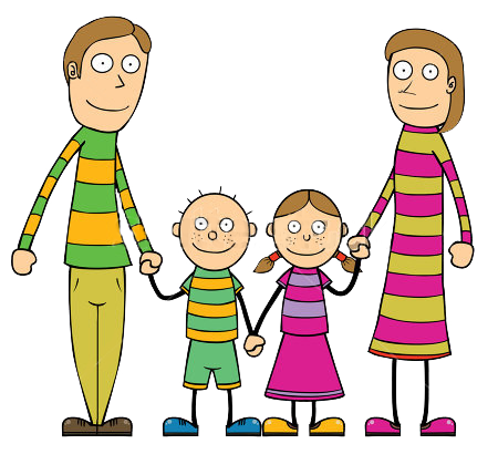 stock-vector-parent-children-all-together-114660706
